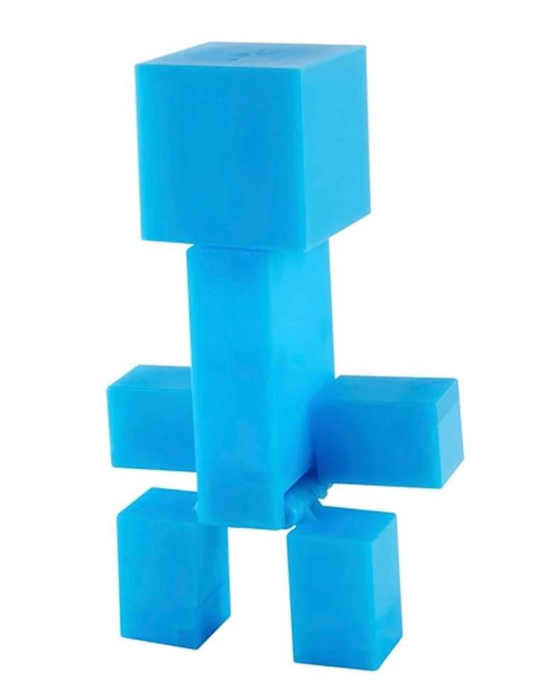 Niebieski Blue Creeper Figure Action Minecraft 3