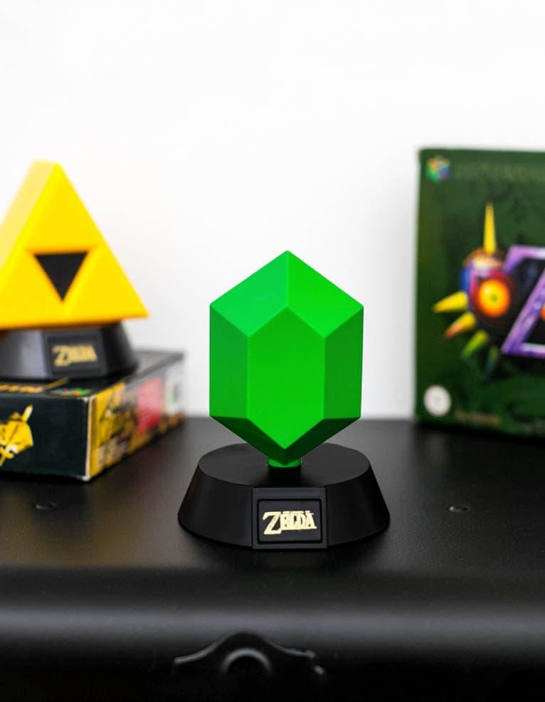 Lampka Zelda Zielona Rupee Green 002 2