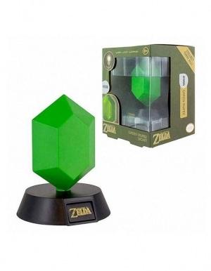 Lampka Zelda Zielona Rupee Green 002 3