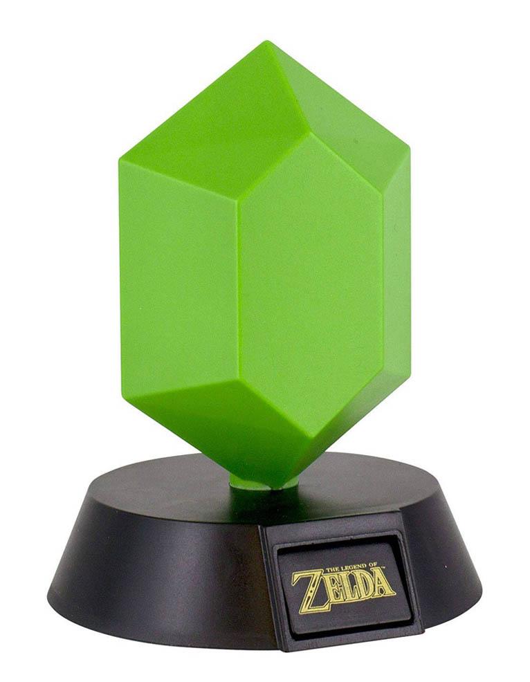 Lampka Zelda Zielona Rupee Green 002