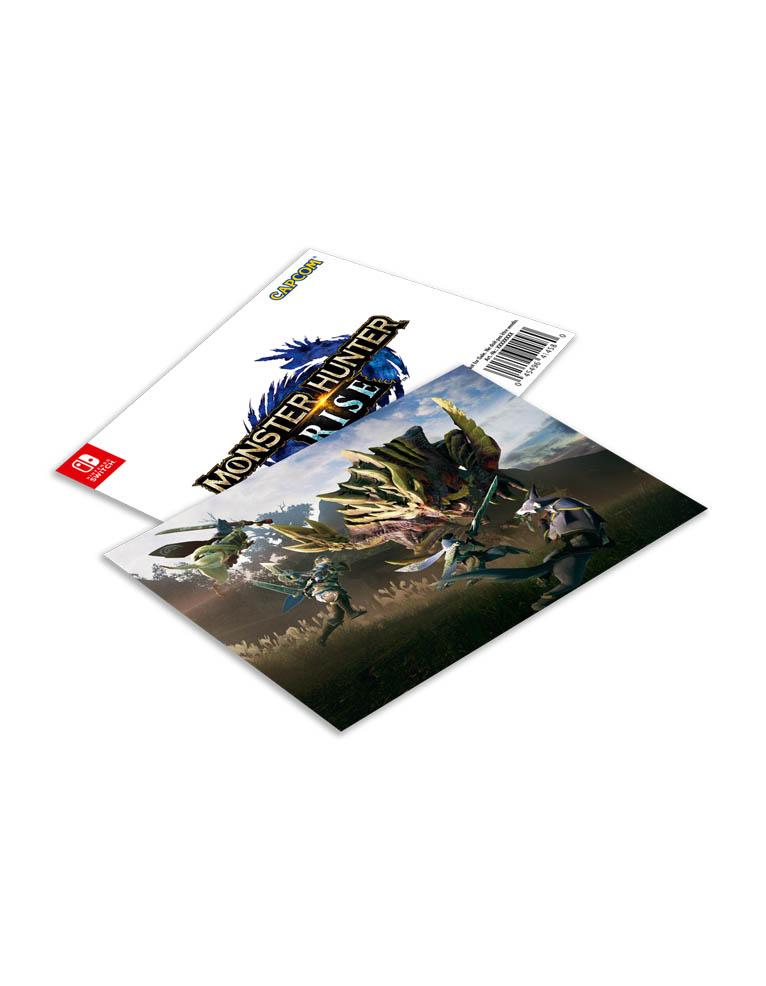 Monster Hunter Rise Gra Nintendo Switch Karta Soczewkowa 3d