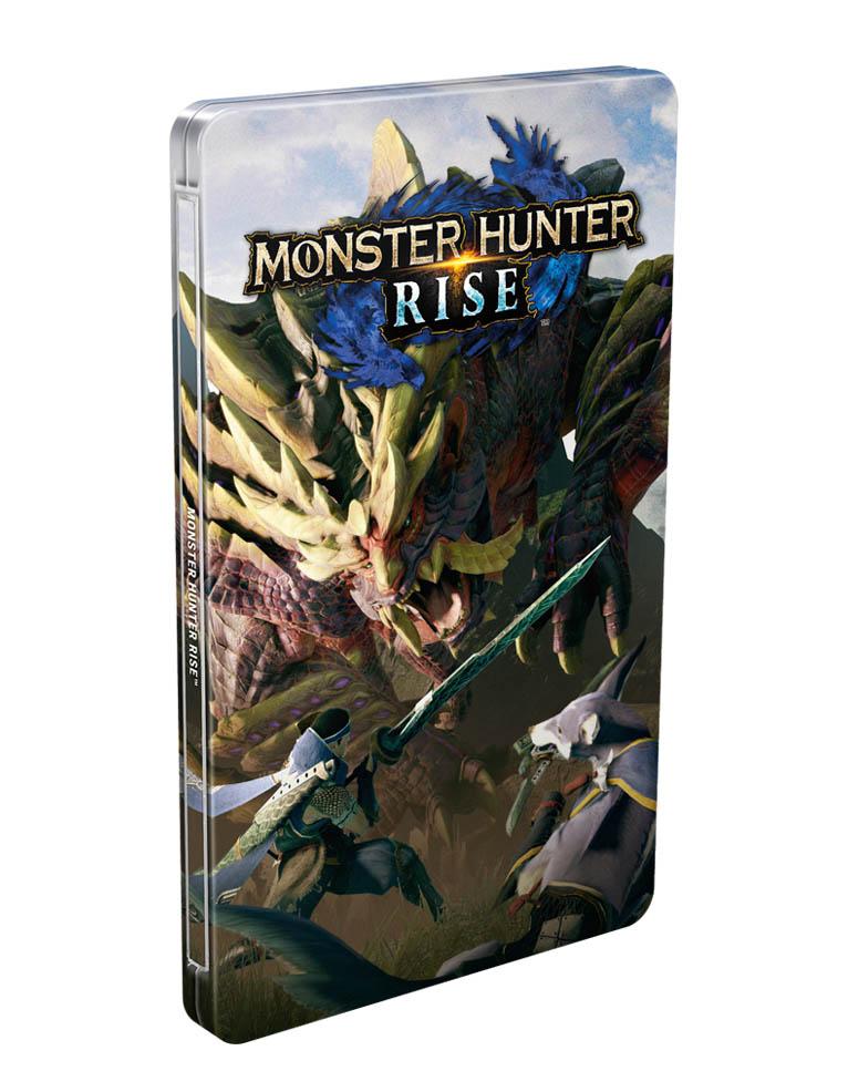 Monster Hunter Rise Gra Nintendo Switch Steelbook