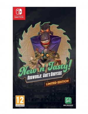 New N Tasty Oddworld Abes Oddysee Limited Edition Gra Nintendo Switch