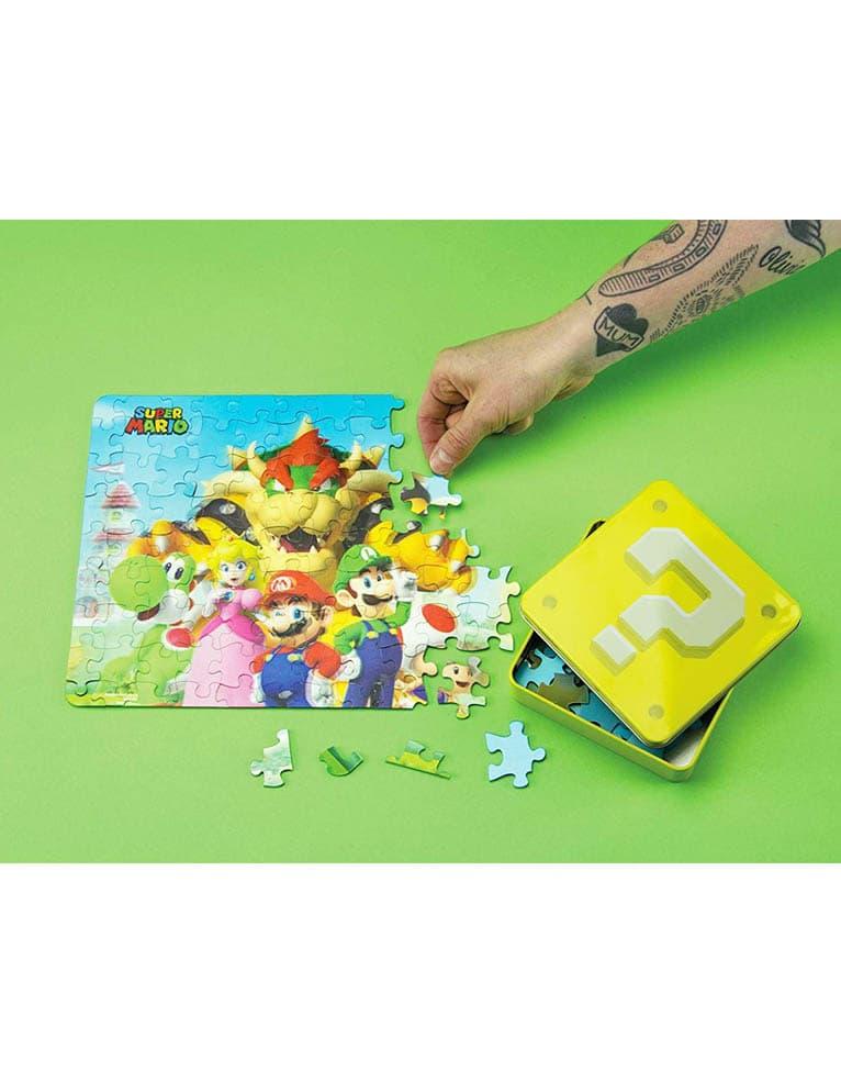 Puzzle Super Mario 3d Jigsaw 108 Elementow 2