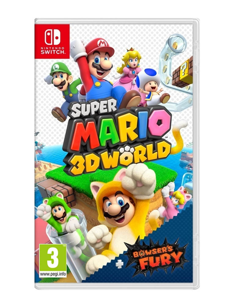 Super Mario 3 D World Gra Nintendo Switch
