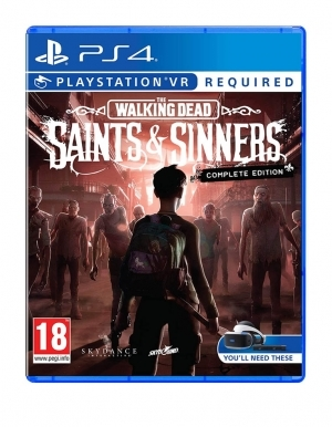 The Walking Dead Saints And Sinners Complete Edition Gra Ps4 Vr