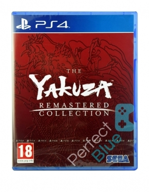 Yakuza Remastered Collection Gra Ps4 Przod Logo