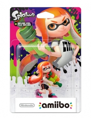 Amiibo Splatoon Inkling Girl Orange Pomaranczowa