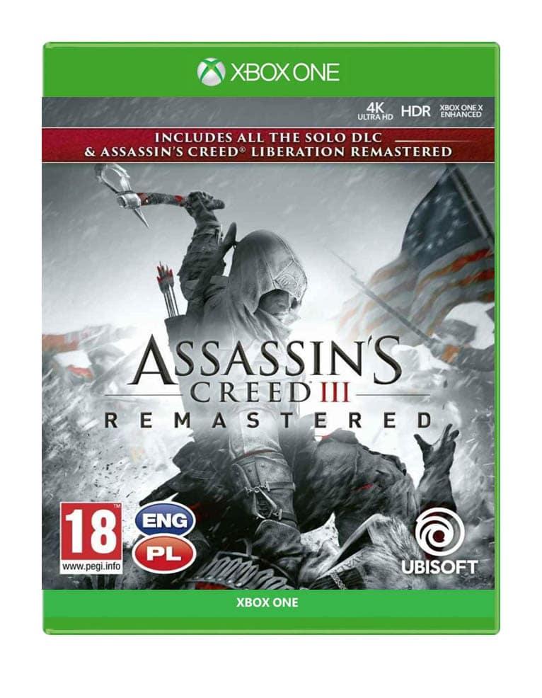 Assassins Creed Iii Remastered Liberation Gra Xbox One