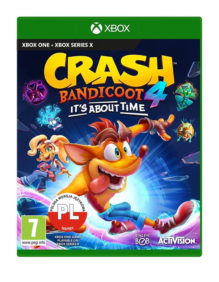 Crash Bandicoot 4 Najwyzszy Czas Gra Xbox One Its About Time