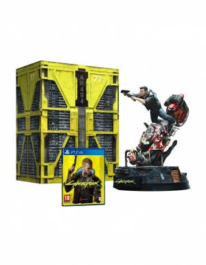 cyberpunk 2077 gra ps4 edycja kolekcjonerska collectors edition 2