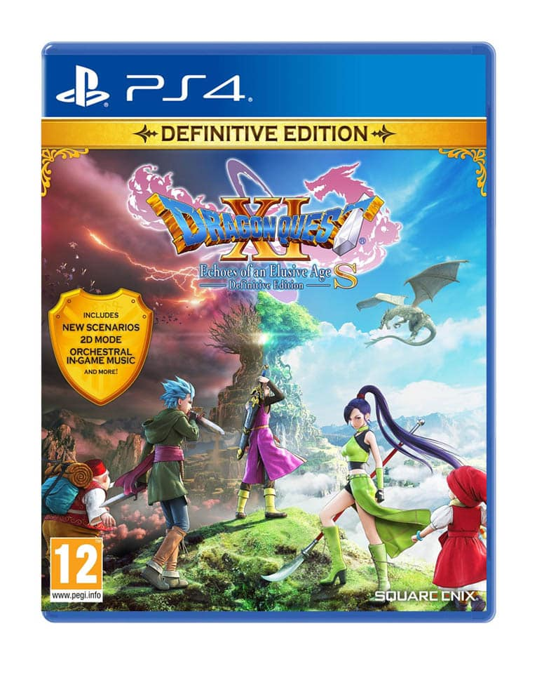 Dragon Quest Xi Echoes Of An Elusive Age S Definitive Edition Gra Ps4