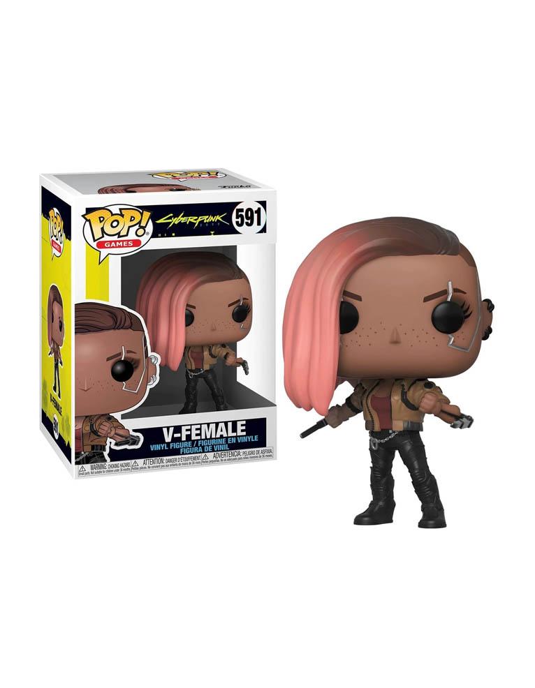 Funko Pop Figurka Cyberpunk 2077 V Female 591