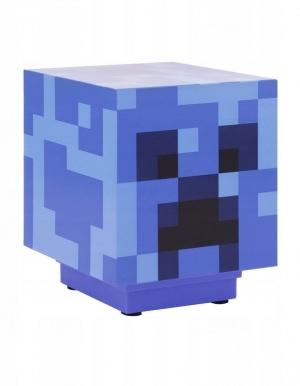 Niebieska Lampka Blue Light Minecraft Charged Creeper Paladone 2