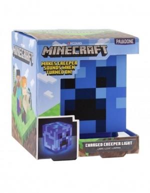 Niebieska Lampka Blue Light Minecraft Charged Creeper Paladone 3