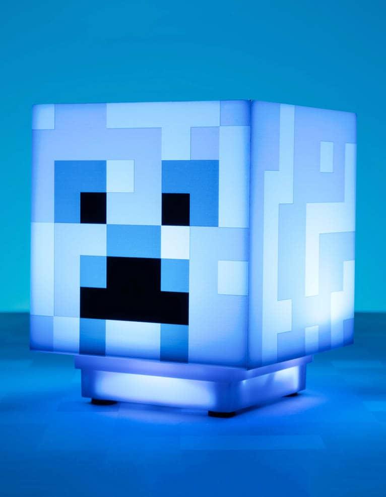 Niebieska Lampka Blue Light Minecraft Charged Creeper Paladone