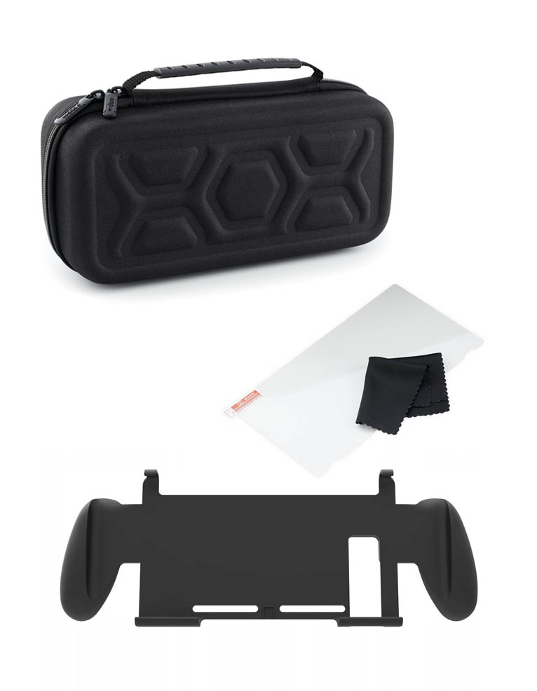 Pokrowiec Etui Big Ben Szklo Uchwyt Travel Kit 3 In 1 Nintendo Switch 4