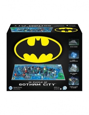 Puzzle 4d Batman Gotham City