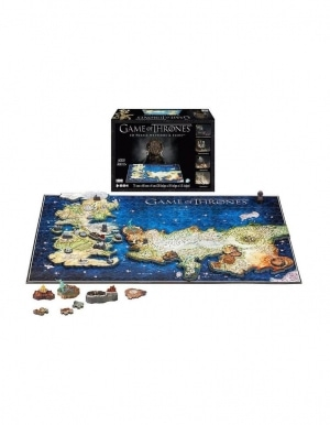 Puzzle 4d Gra O Tron Game Of Thrones Westetos Essos 2
