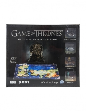Puzzle 4d Gra O Tron Game Of Thrones Westetos Essos