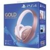 Sluchawki Wireless Gold Rose Rozowe Ps4