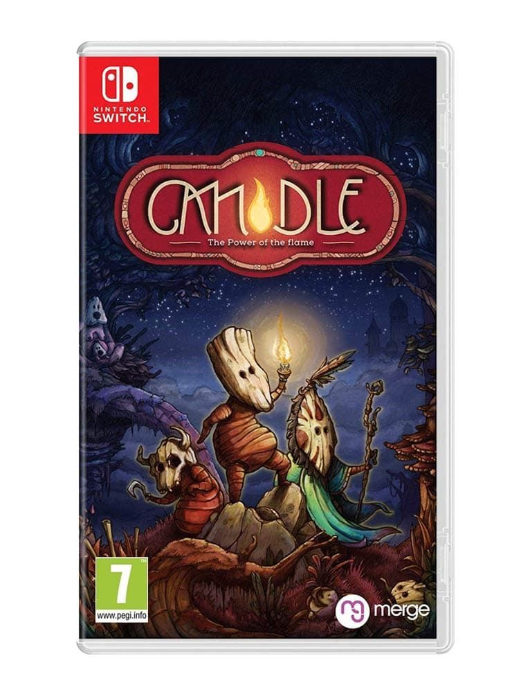 Candle The Power Of The Flame Gra Nintendo Switch