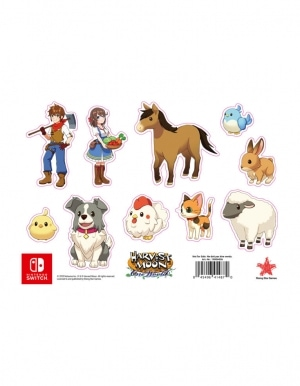 Harvest Moon One World Gra Nintendo Switch Naklejki
