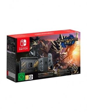 Konsola Nintendo Switch Edycja Monster Hunter Rise 2