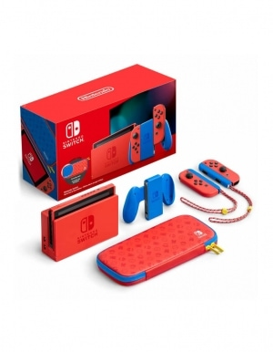 Konsola Nintendo Switch Mario Red Blue Edition 2
