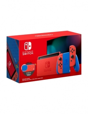 Konsola Nintendo Switch Mario Red Blue Edition