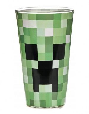 Minecraft Creeper Glass Szklanka 2