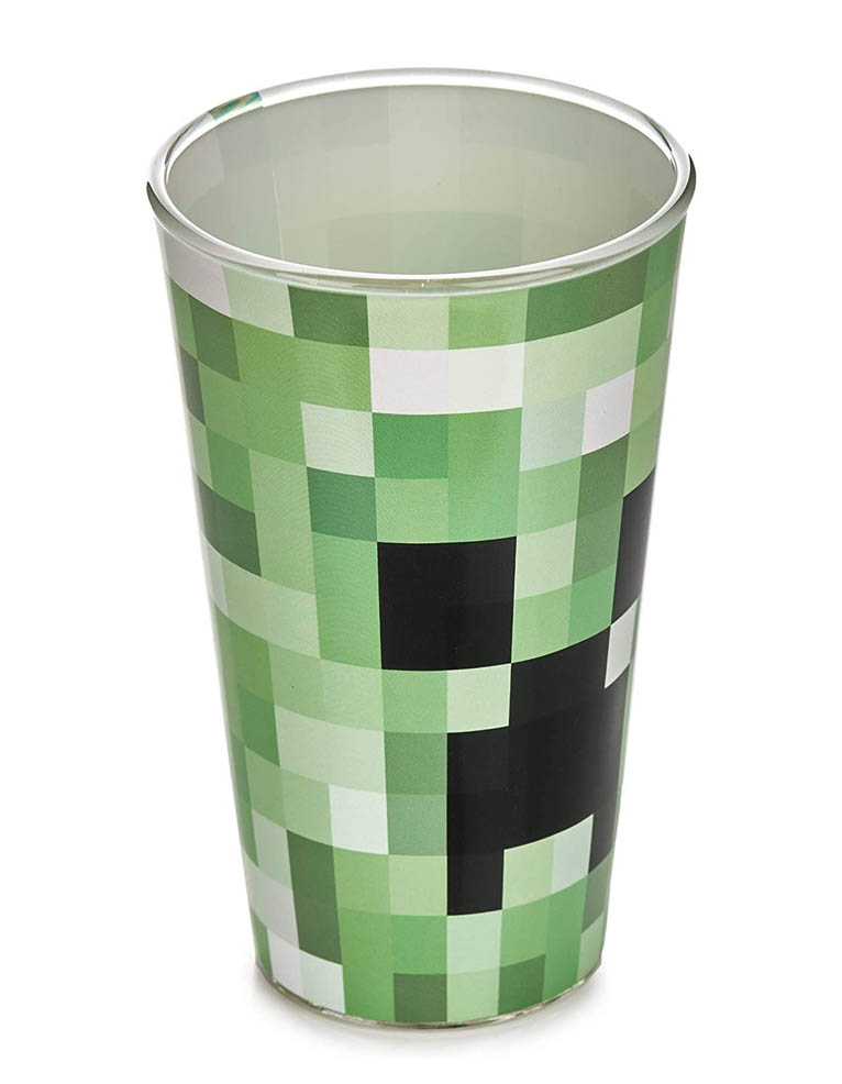 Minecraft Creeper Glass Szklanka 3