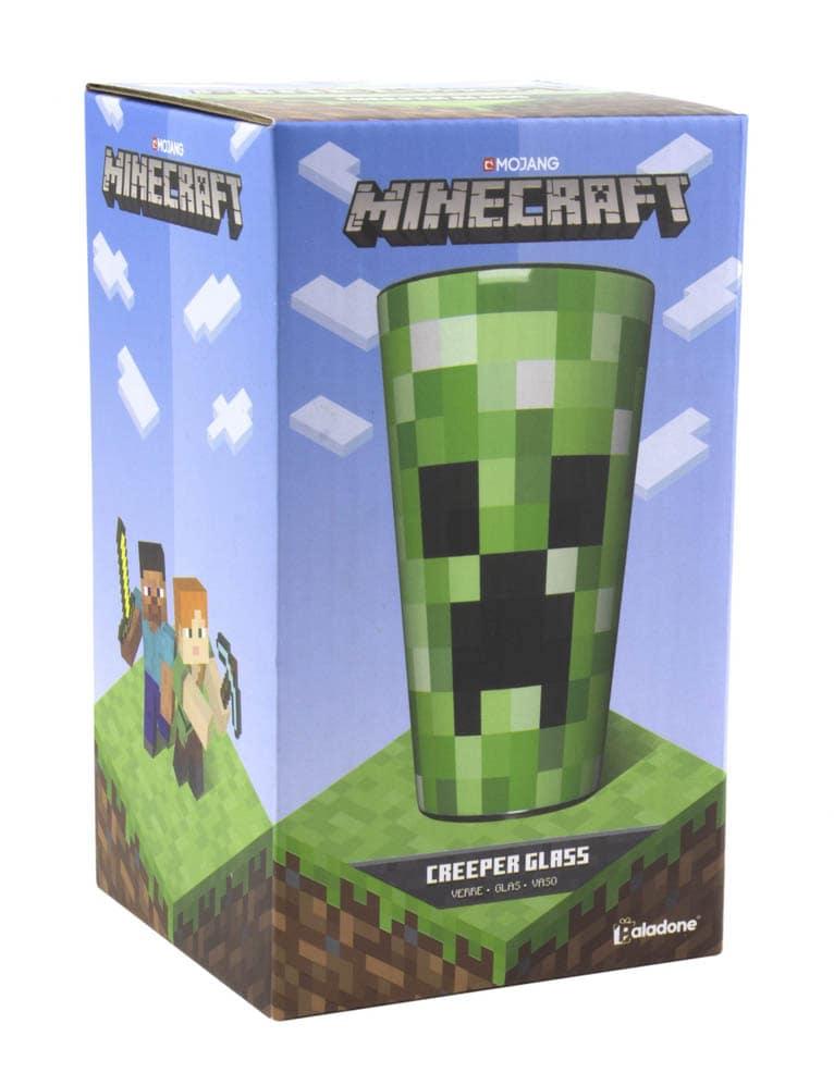 Minecraft Creeper Glass Szklanka