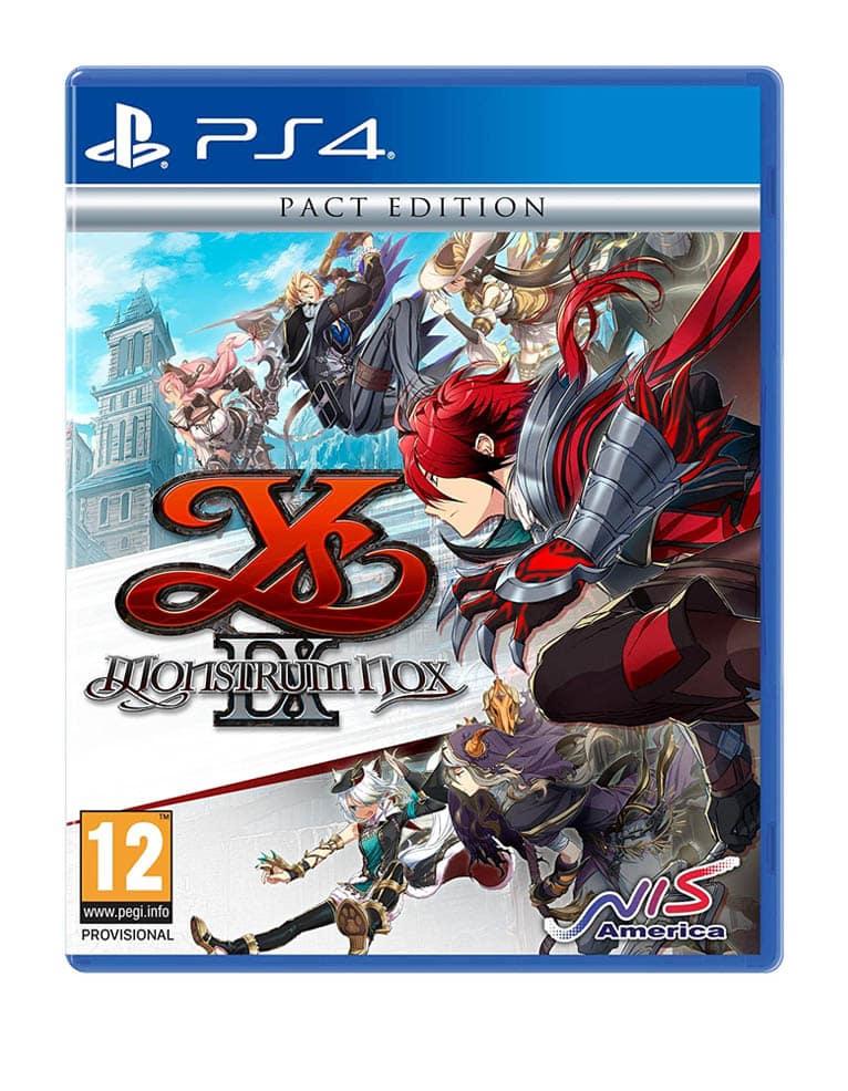 Monstrum Nox Ys Ix Pack Edition Gra Ps4