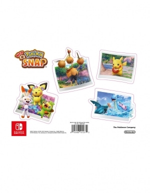 new pokemon snap gra nintendo switch naklejki