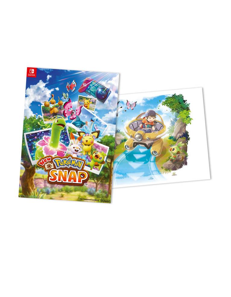 new pokemon snap gra nintendo switch plakat