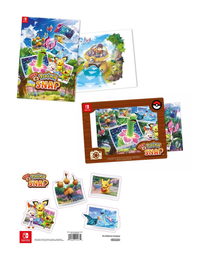 new pokemon snap gra nintendo switch ramka na zdjecia naklejki plakat