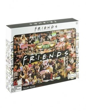 Puzzle 1000 Przyjaciele Friends Collage