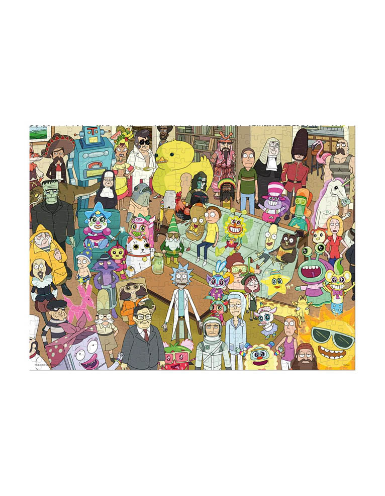 Puzzle Rick And Morty 500 Elementow 2