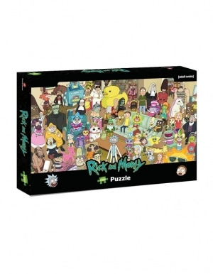 Puzzle Rick And Morty 500 Elementow