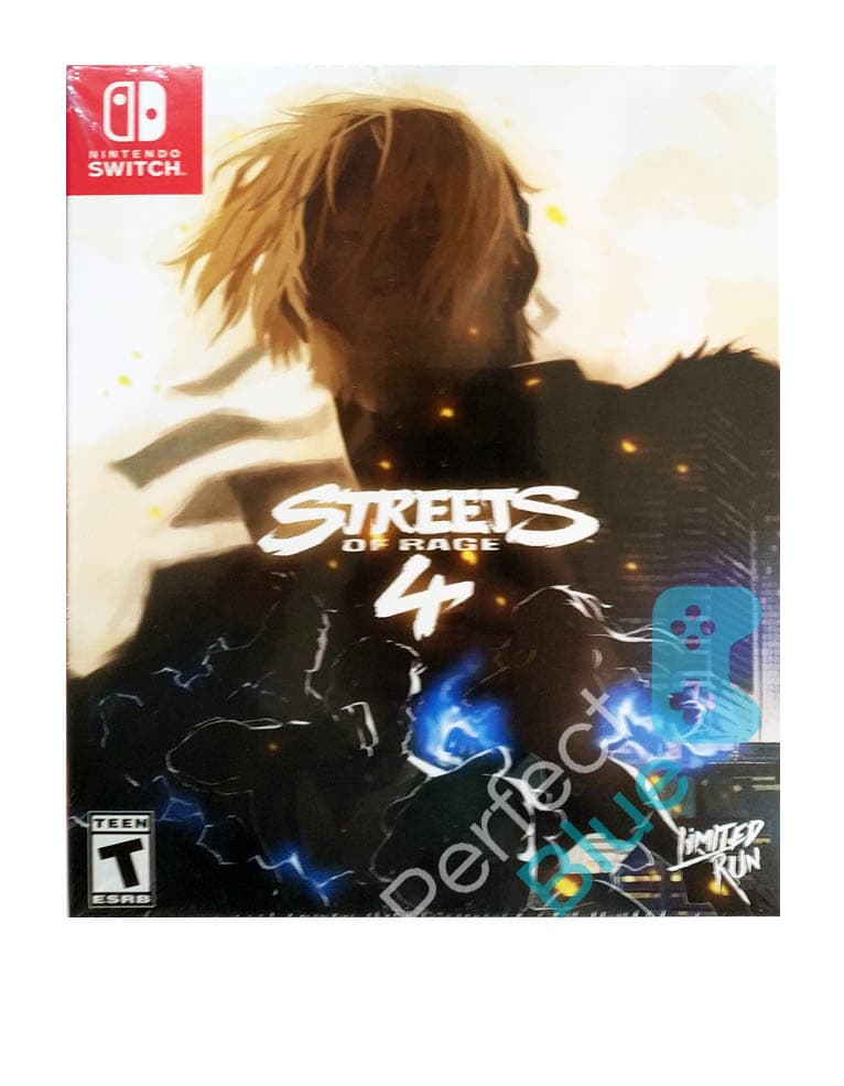 Streets Of Rage 4 Deluxe Edition Gra Nintendo Switch Logo