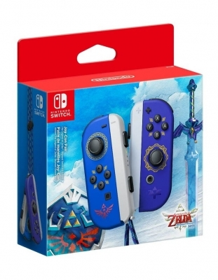 joy con hylian shield and master zelda gra nintendo switch