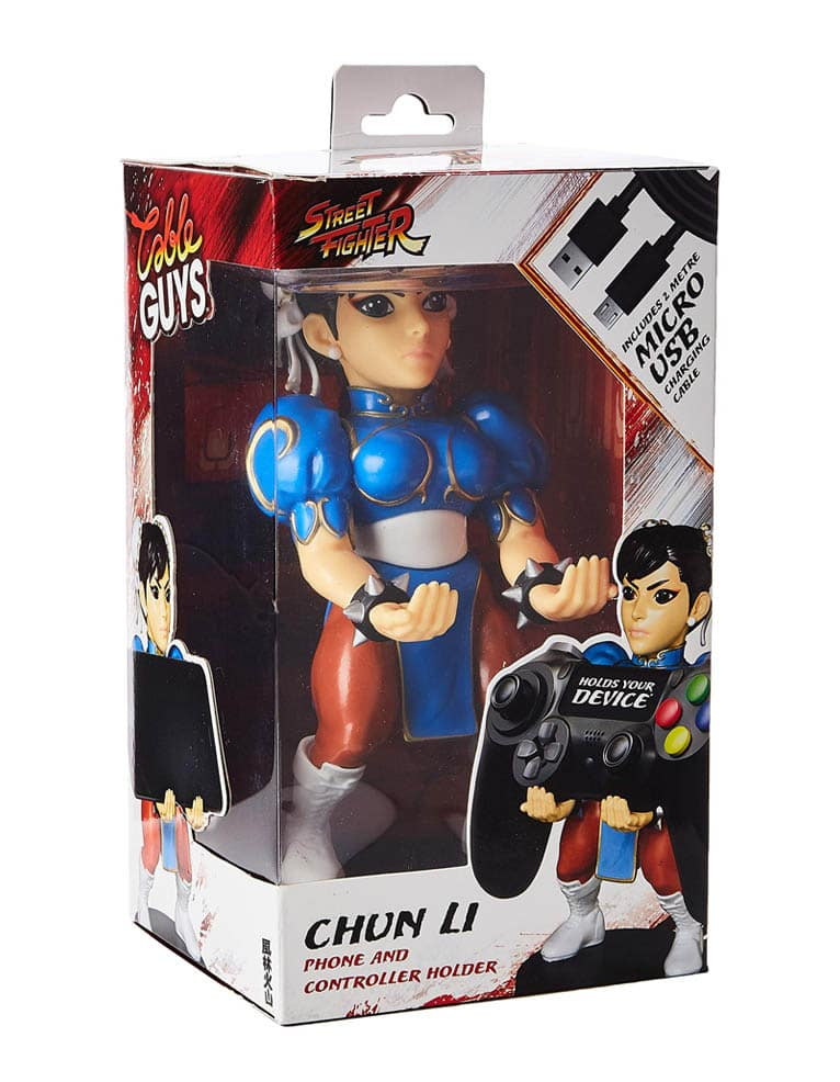 Stojak Figurka Cable Guys Street Fighter Chun Li 5