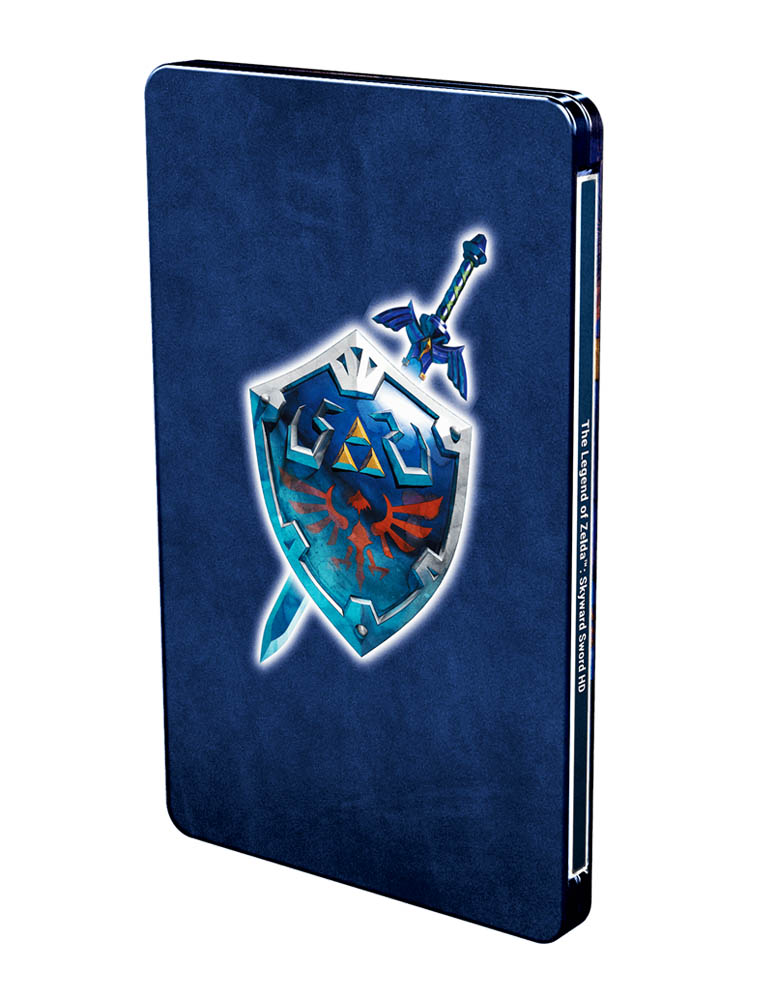 the legend of zelda skyward sword hd gra nintendo switch steelbook