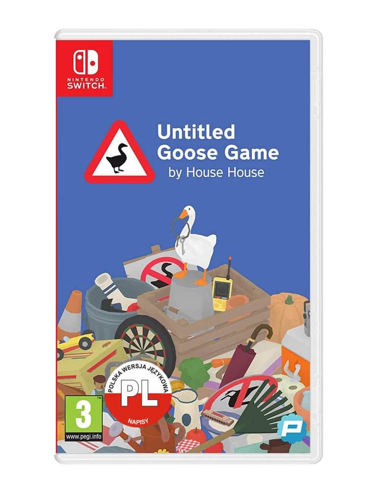 untitled goose game gra nintendo switch