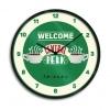 Zegar Scienny Friends Przyjaciele Welcome Central Perk Zielony