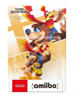 amiibo figurka super smash bros collection banjo and kazooie no 85