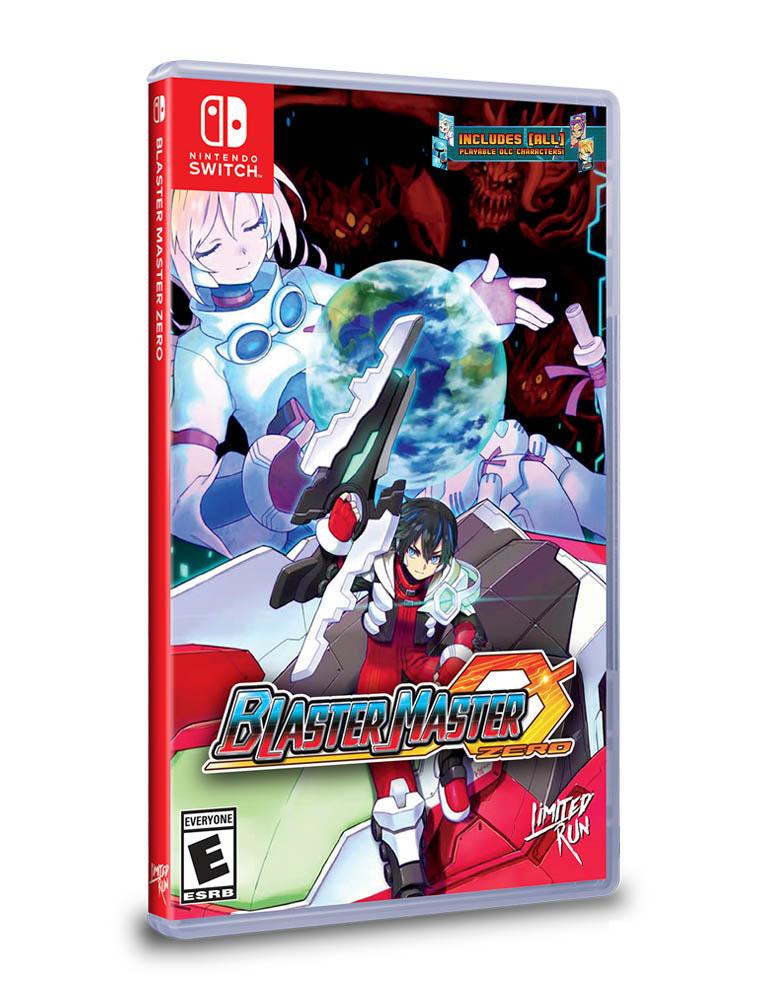 blaster master zero limited run gra nintendo switch