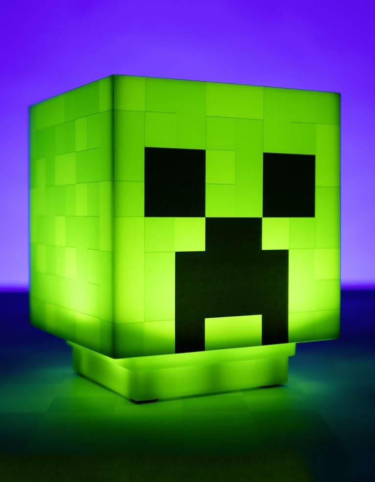 lampka creeper zielona minecraft sounds light 3