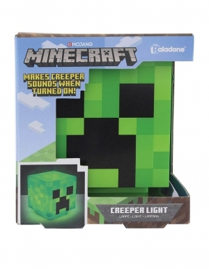 lampka creeper zielona minecraft sounds light
